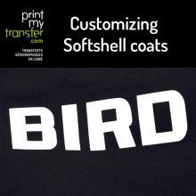 Customizing Softshell coats and textiles