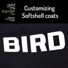 Customizing Softshell coats and textiles