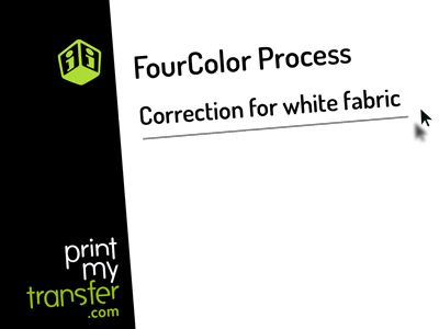 White fabric color Tutorial