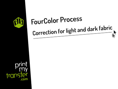 Light and dark fabric color Tutorial